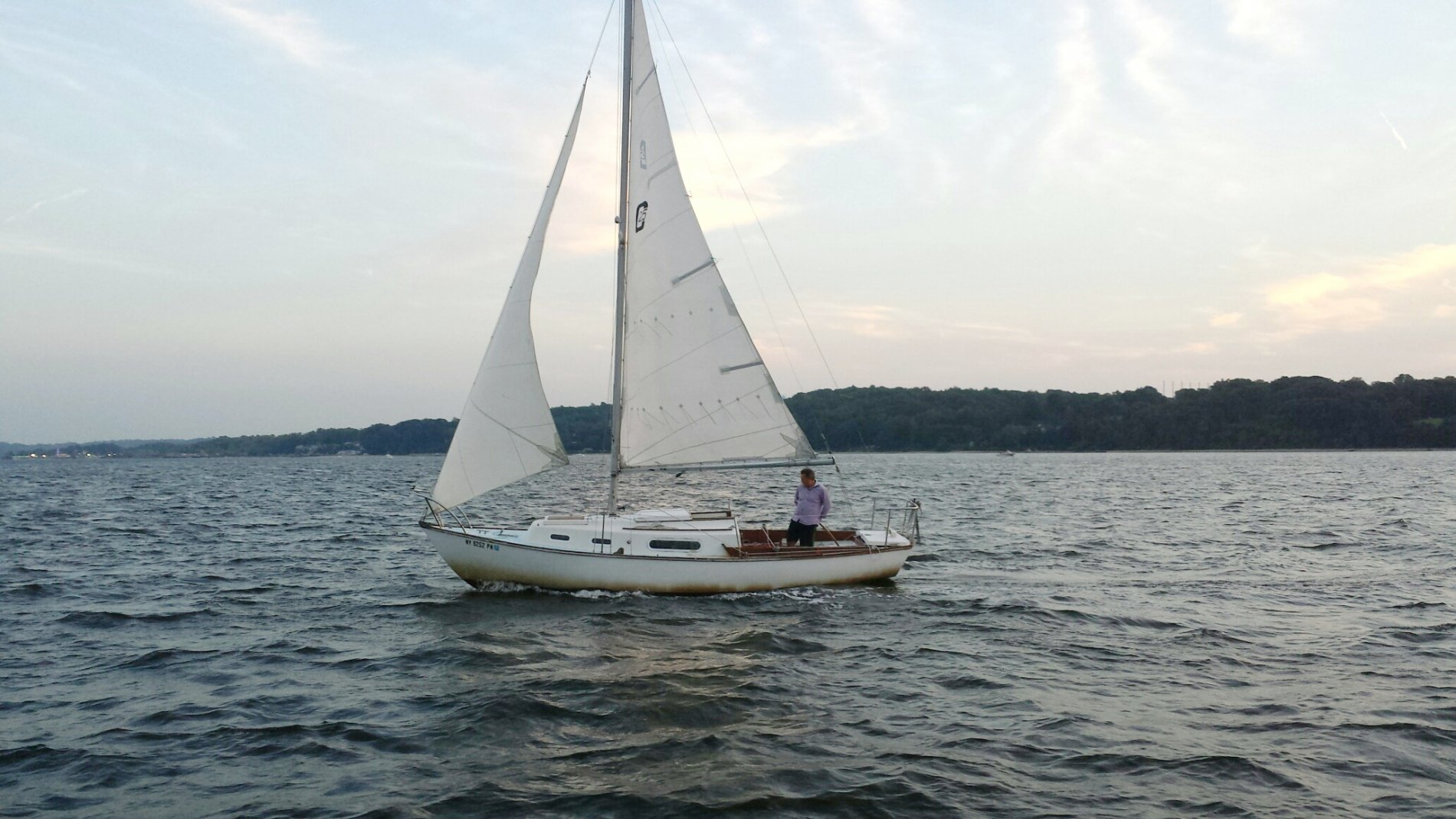 Picture of At play with my boat