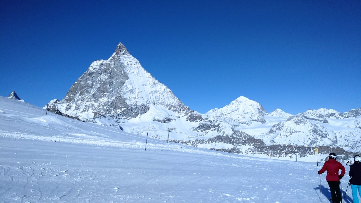 Picture of Zermatt-Switzerland and Milano-Itally