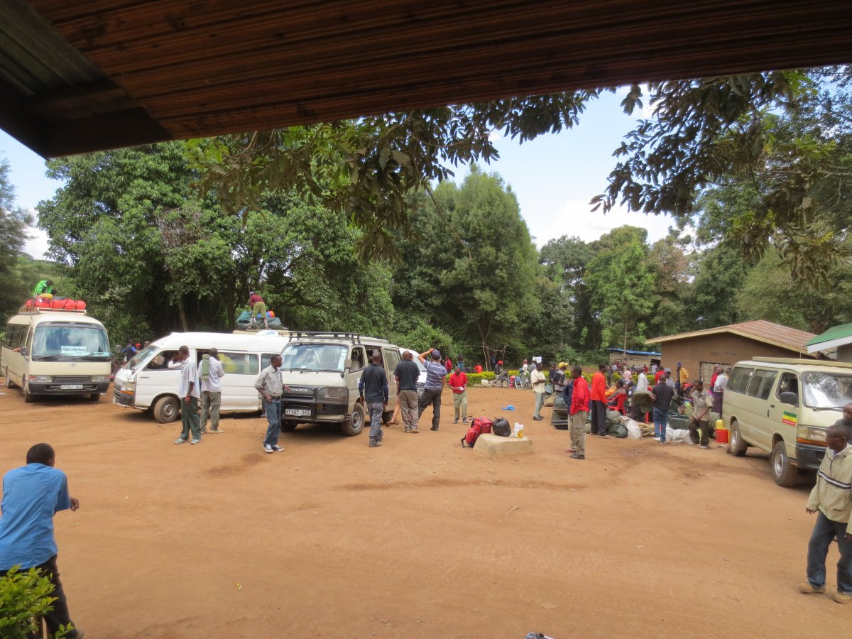 Picture of d7-Mweka Camp to Exit Mweka Gate-1,620m