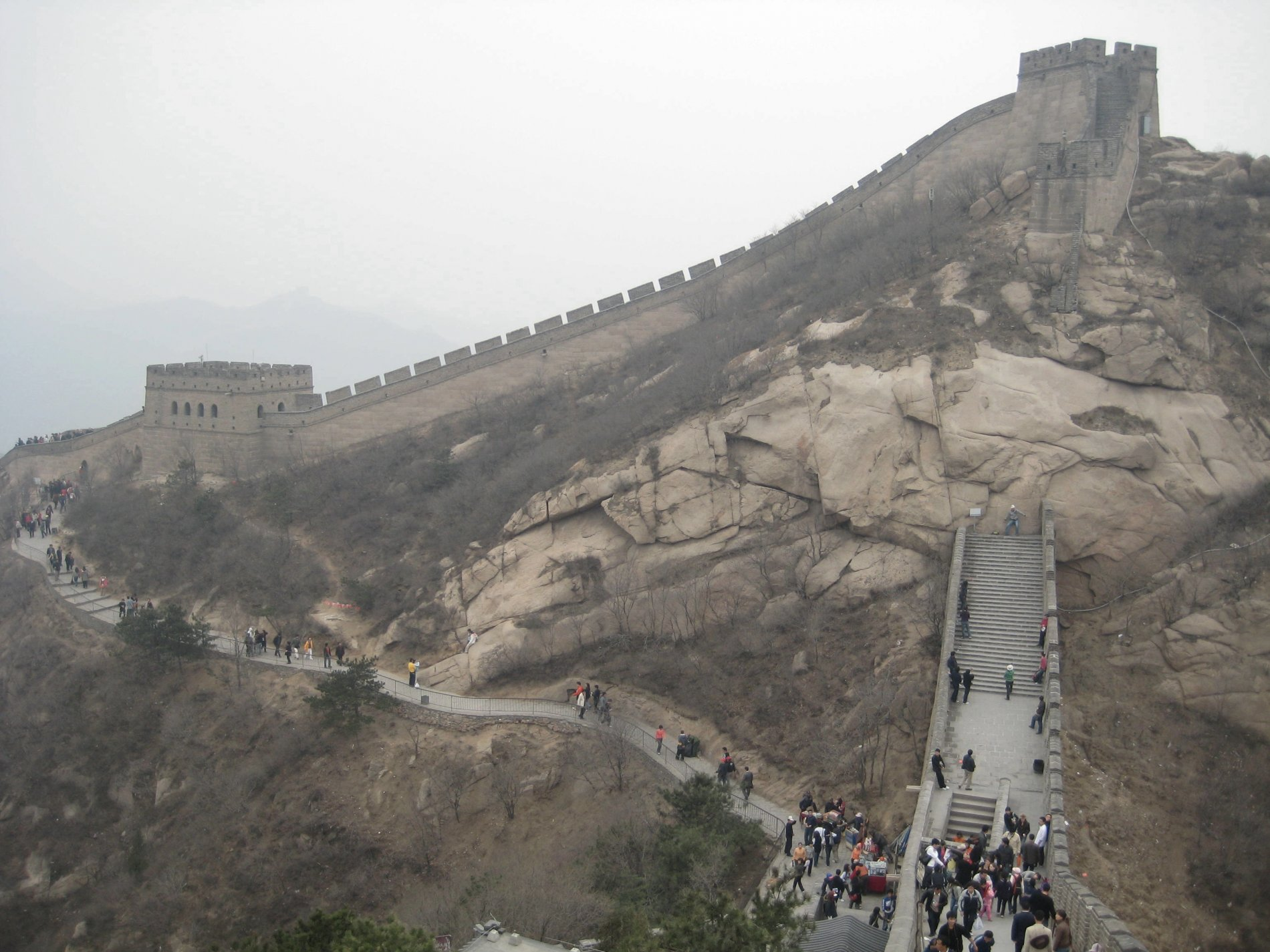 Picture of Great Wall and 13 Tombs