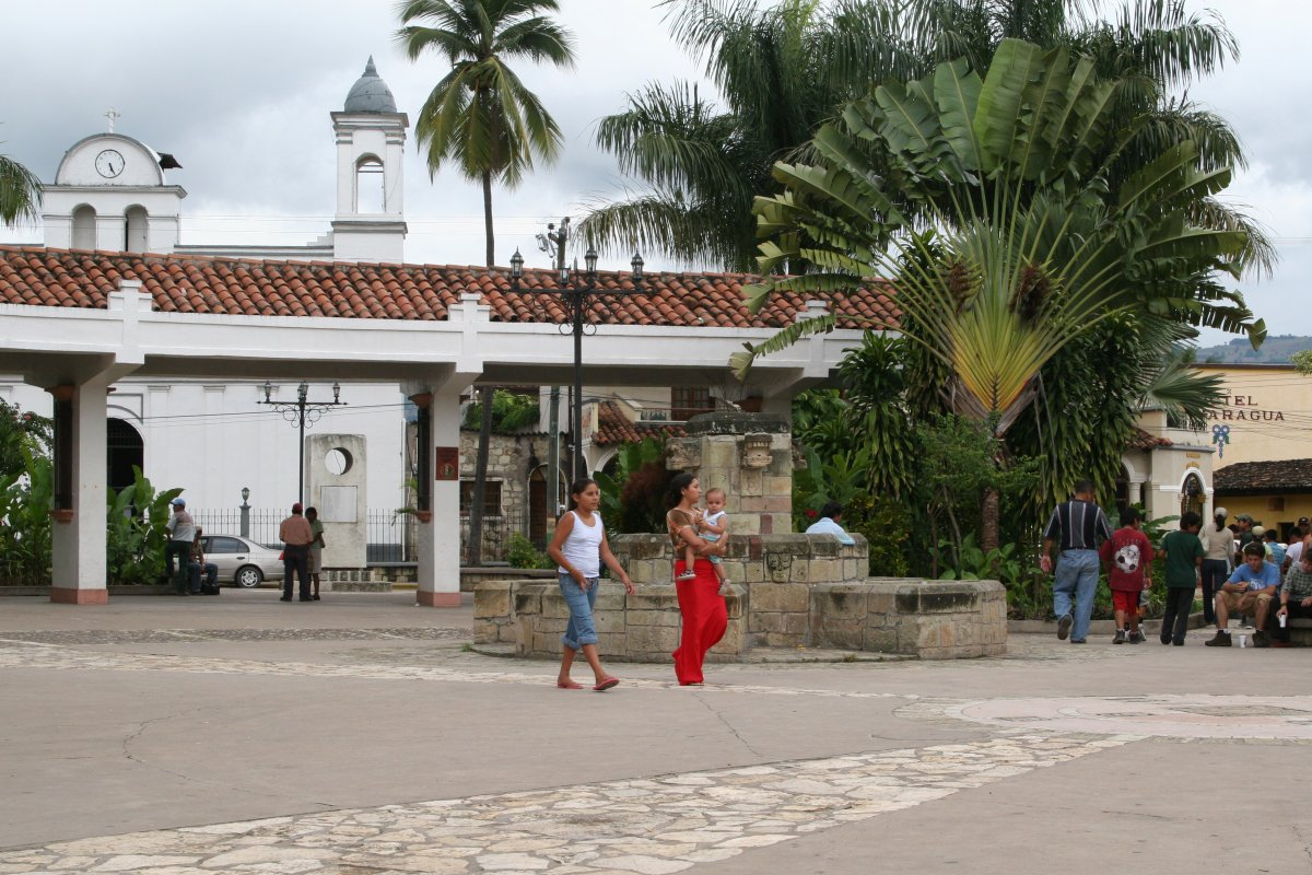 Picture of Copan Town