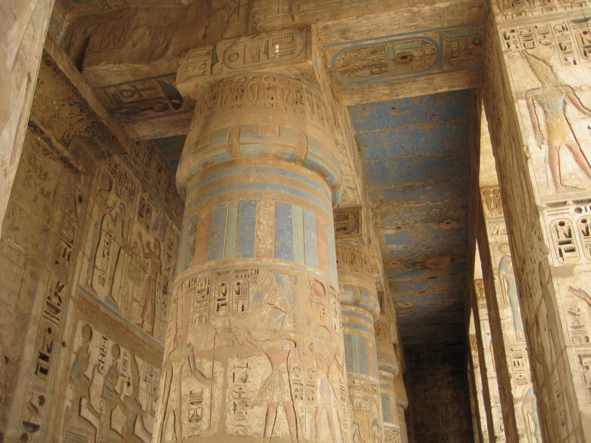 Picture of Ramses III Temple